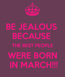 Surprising Facts about March born People