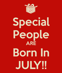 Special & Amazing Facts about people born in July